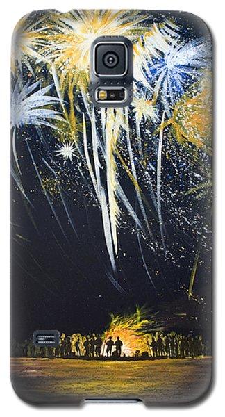 Fireworks Bonfire On The West Bar Galaxy S5 Case