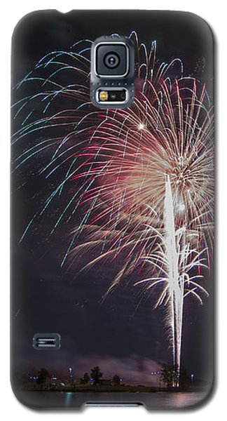 Fireworks Display On The Lake Galaxy S5 Case