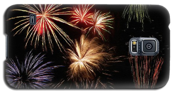 Fireworks Galaxy S5 Case by Jeff Kolker