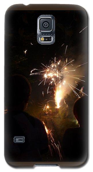 Fireworks Galaxy S5 Case by Margie Avellino