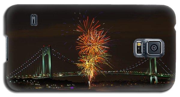 Fireworks Over The Verrazano Narrows Bridge Galaxy S5 Case