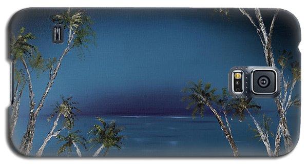 Fireworks Palms Galaxy S5 Case