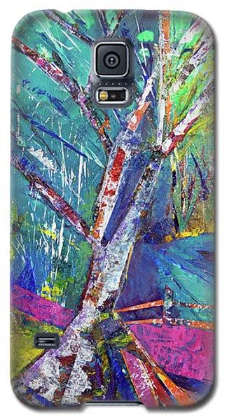 Firey Birch Galaxy S5 Case