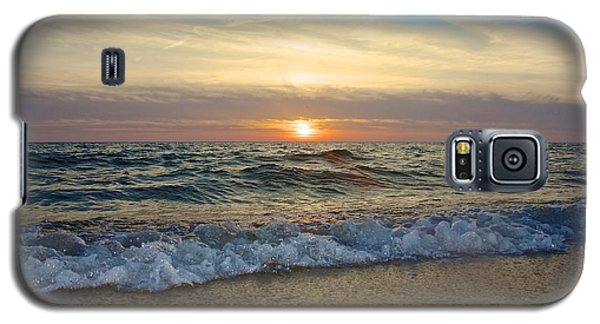 First Encounter Beach Galaxy S5 Case by Amazing Jules