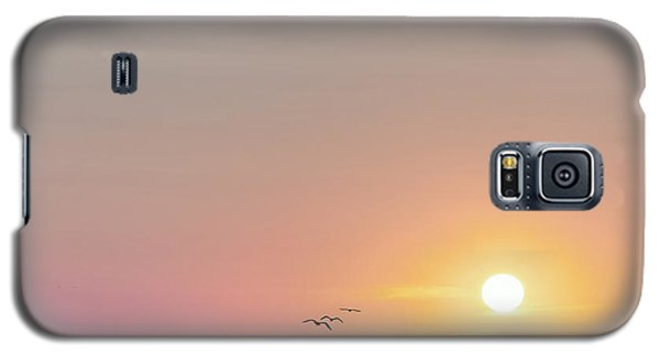 First Encounter Beach Cape Cod Square Galaxy S5 Case