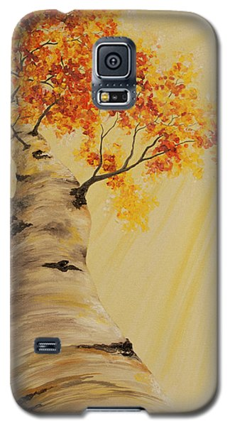 First Fall Light Galaxy S5 Case