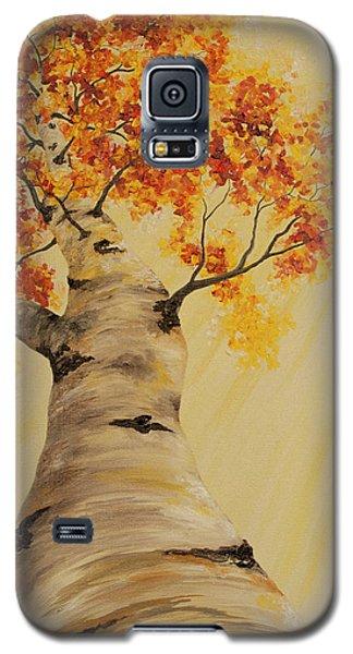 First Fall Light Galaxy S5 Case