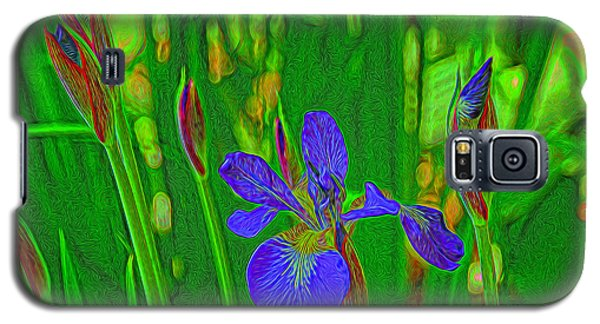 First Iris To Bloom Galaxy S5 Case by Dennis Lundell