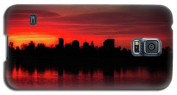 First Light In Denver Galaxy S5 Case