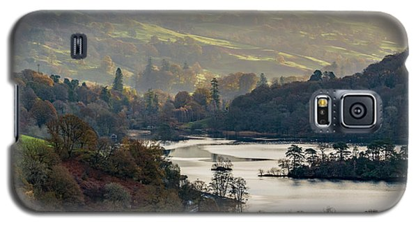First Light Over Rydal Water In The Lake District Galaxy S5 Case