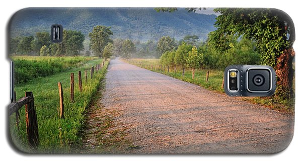 First Light - Sparks Lane At Cades Cove Tennessee Galaxy S5 Case