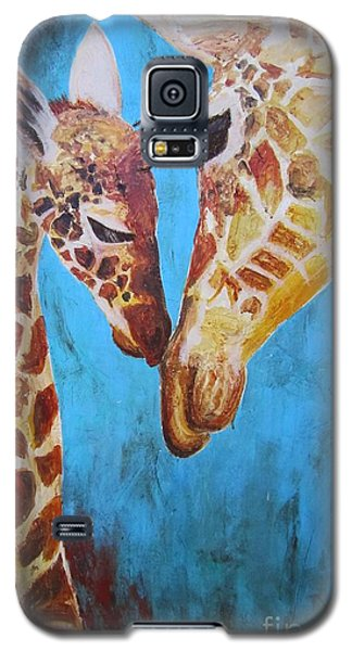 First Love Galaxy S5 Case by Ashley Price