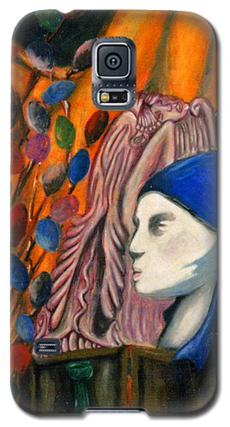First Oil Pastel Galaxy S5 Case by Jean Haynes
