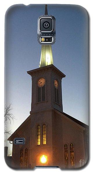 First Presbyterian Churc Babylon N.y After Sunset Galaxy S5 Case