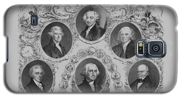 First Six U.s. Presidents Galaxy S5 Case by War Is Hell Store
