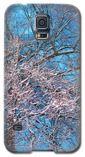 First Snow At Dawn Galaxy S5 Case