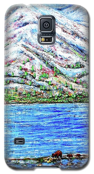 First Snow Galaxy S5 Case by Viktor Lazarev