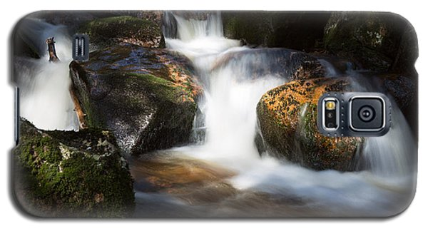 first spring sunlight on the Warme Bode, Harz Galaxy S5 Case