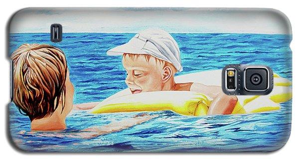 First Swimming - Nadar Primero Galaxy S5 Case