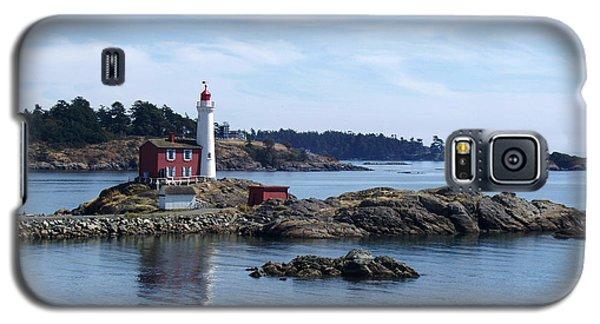 Fisgard Lighthouse Shoreline Galaxy S5 Case by Marilyn Wilson