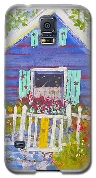 Fish Camp Cottage Galaxy S5 Case
