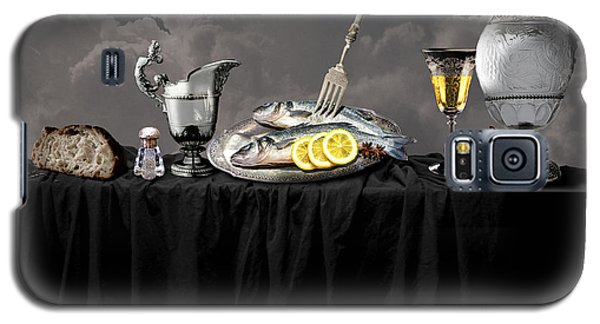 Fish Diner In Silver Galaxy S5 Case