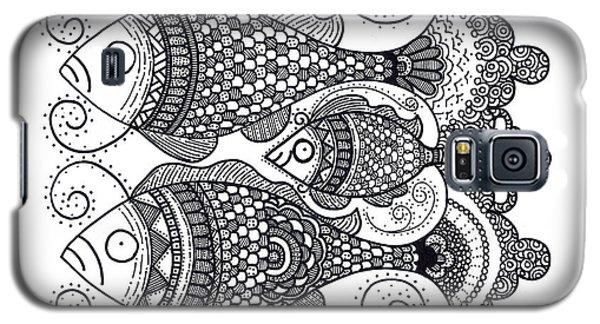 Fish Family Galaxy S5 Case