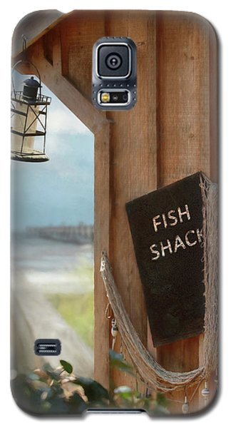 Galaxy S5 Case featuring the photograph Fish Fileted by Lori Deiter