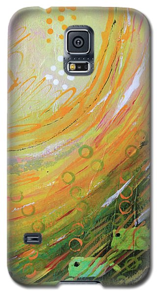 Fish In A Green Sea Galaxy S5 Case