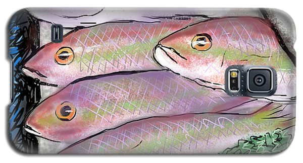 Fish Market Galaxy S5 Case by Jean Pacheco Ravinski