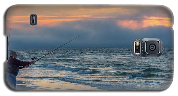 Galaxy S5 Case featuring the photograph Fish On In Alabama  by John McGraw