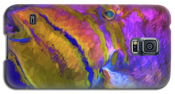 Galaxy S5 Case featuring the photograph Fish Paint Dory Nemo by David Haskett