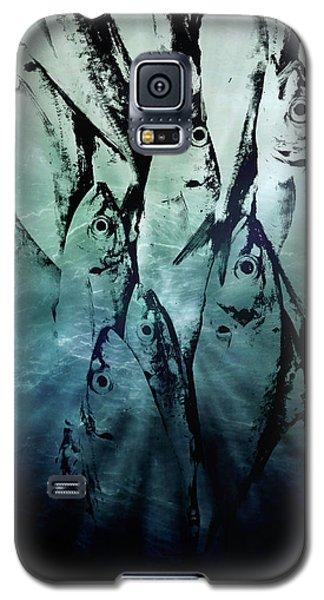 Fish Pattern Galaxy S5 Case by Tom Gowanlock