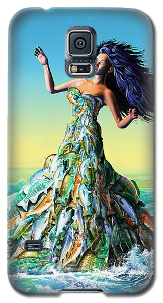 Fish Queen Galaxy S5 Case