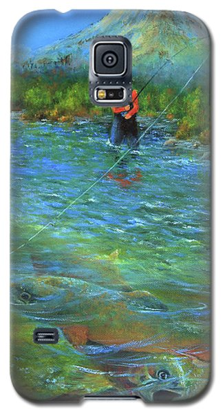 Fish Story Galaxy S5 Case by Jeanette French