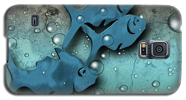 Fish Wall Galaxy S5 Case by Terry Cork