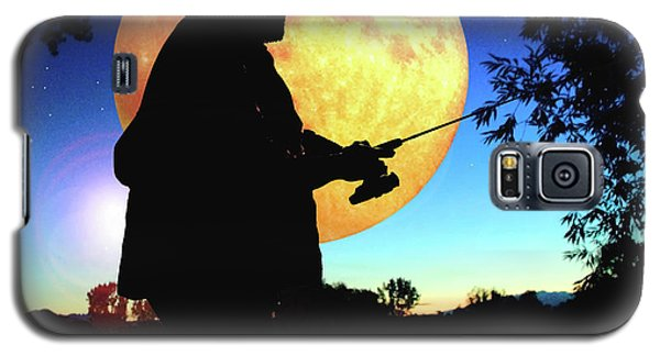 Fisherman In The Moolight Galaxy S5 Case