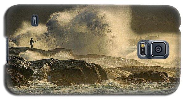 Fisherman Splash Galaxy S5 Case