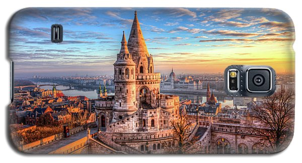 Fisherman's Bastion In Budapest Galaxy S5 Case by Shawn Everhart