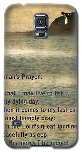 Catfish Galaxy S5 Case - Fisherman's Prayer by Robert Frederick