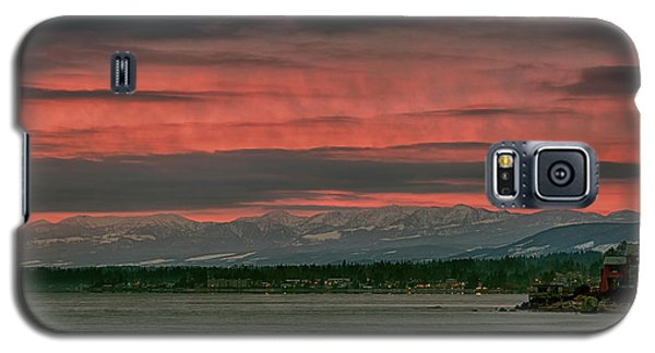 Galaxy S5 Case featuring the photograph Fishermans Wharf Sunrise by Randy Hall