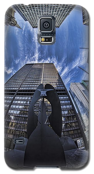 Fisheye View Of Chicago's Picasso Galaxy S5 Case