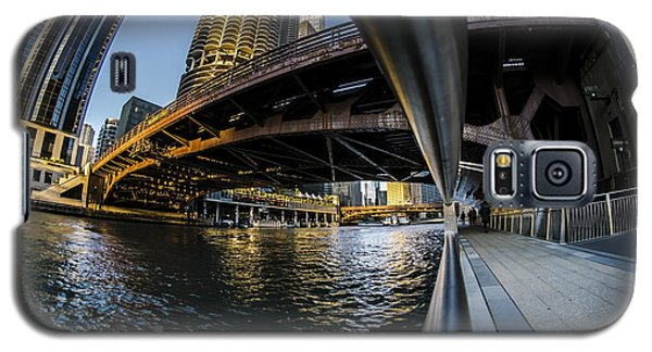 Fisheye View From The Chicago Riverwalk Galaxy S5 Case