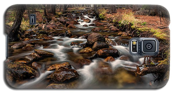 Fishhook Creek Waterscape Art By Kaylyn Franks Galaxy S5 Case