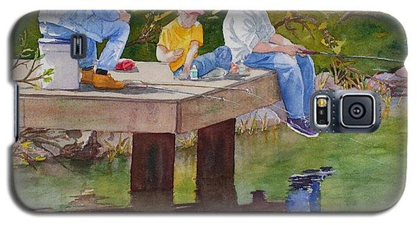 Fishin' Galaxy S5 Case by Judy Mercer