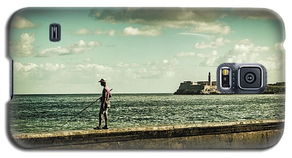 Fishing Along The Malecon Galaxy S5 Case