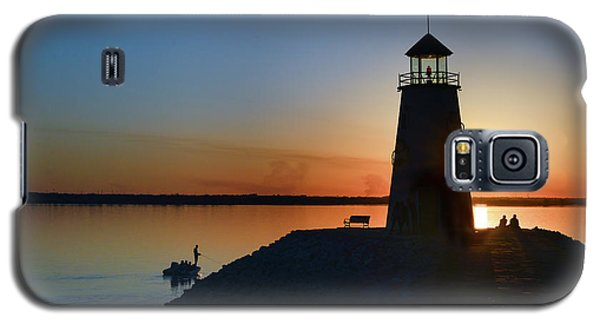 Fishing At The Lighthouse Galaxy S5 Case