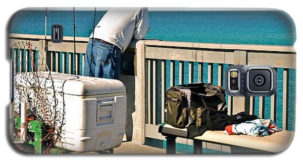Fishing At The Pier Galaxy S5 Case