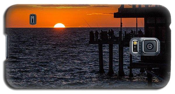 Fishing At Twilight Galaxy S5 Case