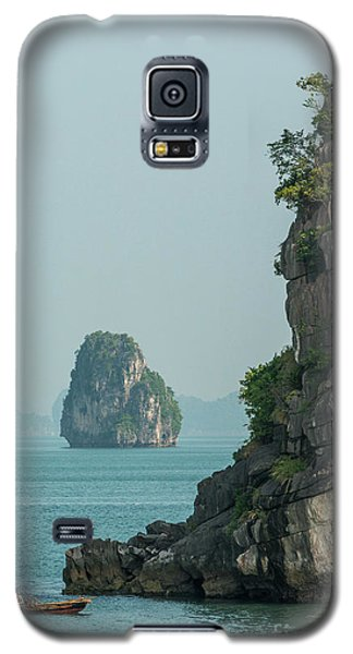 Fishing Boat 2 Galaxy S5 Case by Werner Padarin